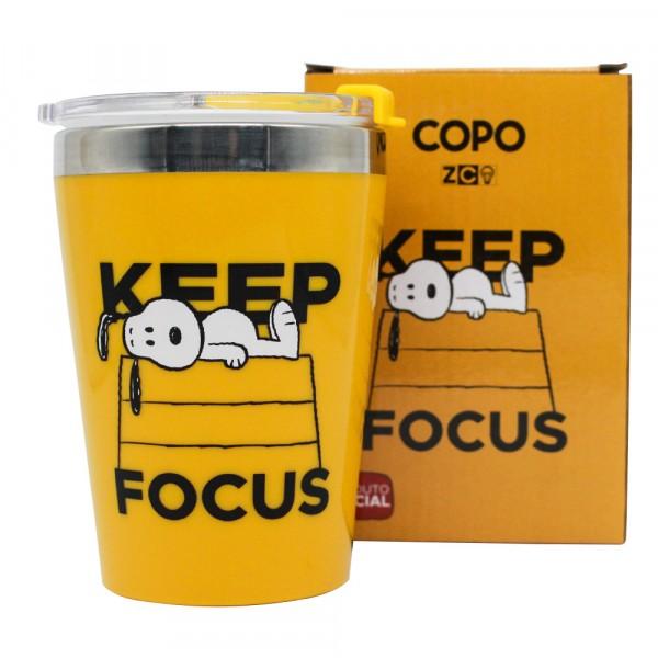 COPO INOX SNOOPY KEEP FOCUS 300ML # 10024037