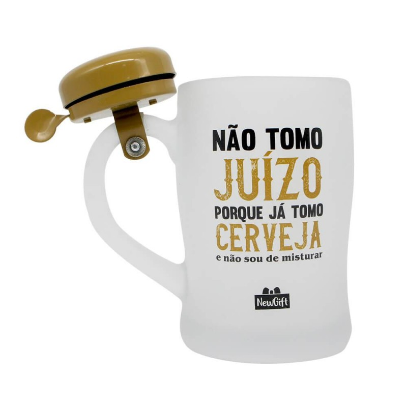 CANECA CAMPAINHA TOMO CERVEJA 400ML # 10023099