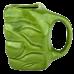 CANECA 3D MAO HULK 350ML # 10022976