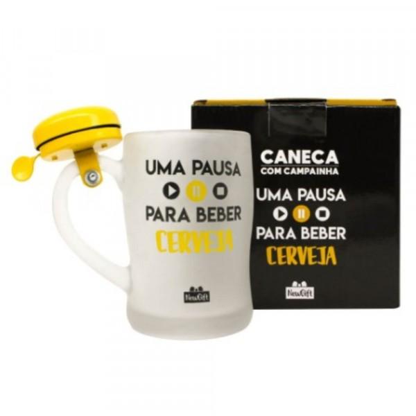 CANECA CAMPAINHA PAUSA CERVEJA 400ML # 10023083