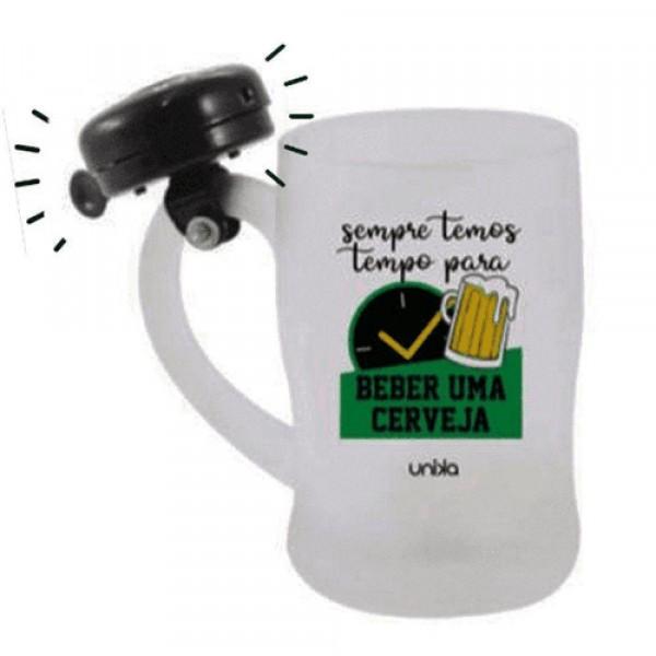 CANECA CAMPAINHA TEMOS TEMPO 630ML # 3027