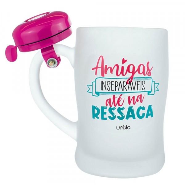 CANECA CAMPAINHA AMIGAS INSEPARAVEIS # 3035