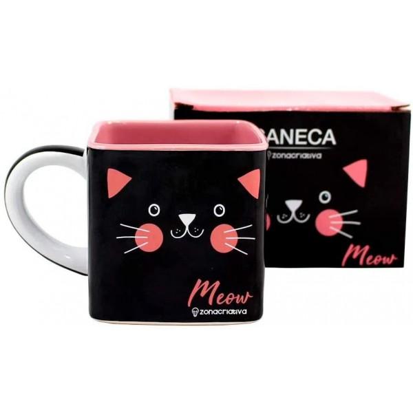 CANECA CUBO MEOW 300ML #10023003