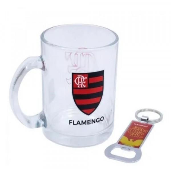 CANECA FLAMENGO C/ABRIDOR 320ML # TWZB13150B-5FLA